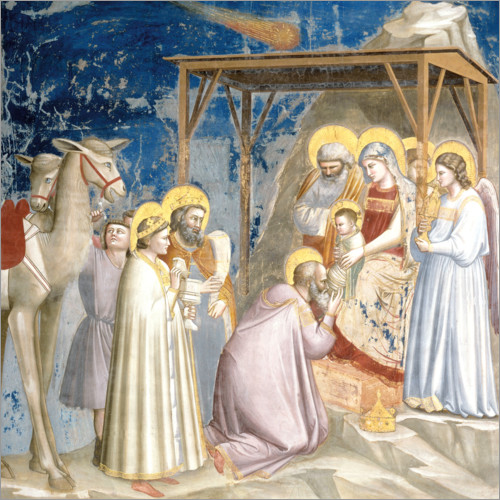 Póster Adoration of the Magi