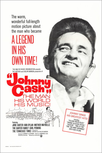 Póster Johnny Cash! The Man, His World, His Music