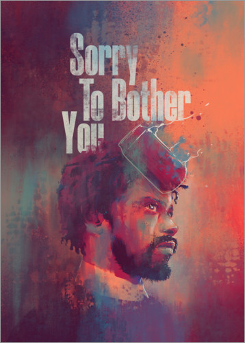 Póster Sorry To Bother You