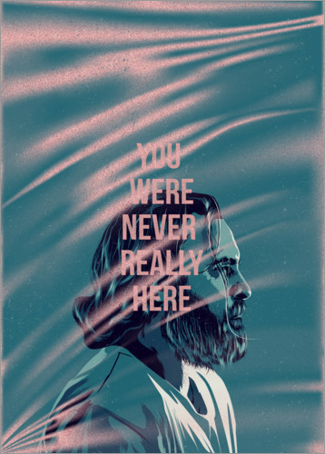 Póster You were never really here