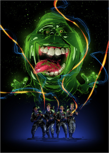 Póster Ghostbusters