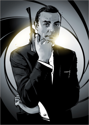 Póster James Bond