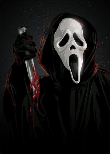 Póster Scream