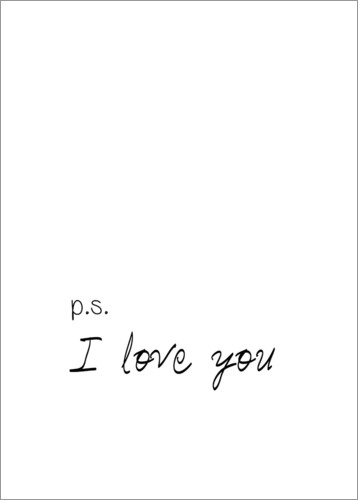 Póster I love you