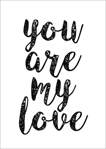 Póster You are my love