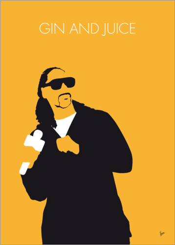 Póster Snoop Dogg, Gin and juice