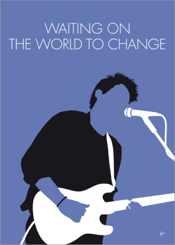 Póster John Mayer - Waiting On The World To Change