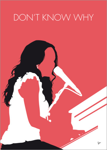 Póster Norah Jones - Don't Know Why