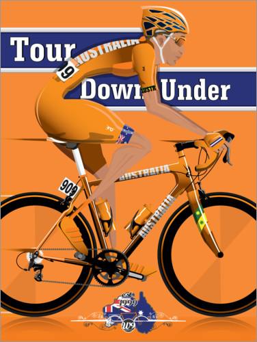 Póster Tour Down Under