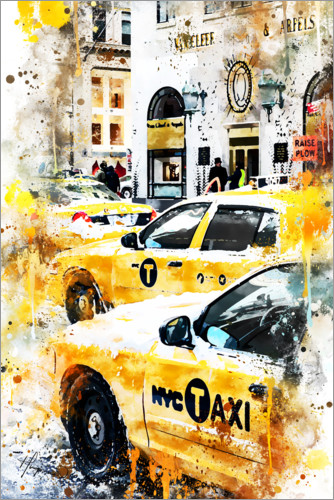 Póster New York Taxis