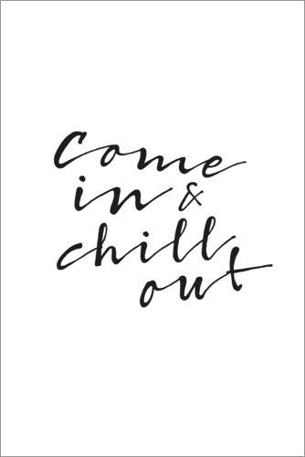 Póster Chill out