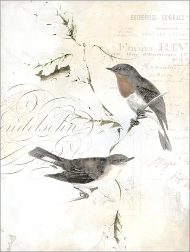 Póster Rustic Gould III