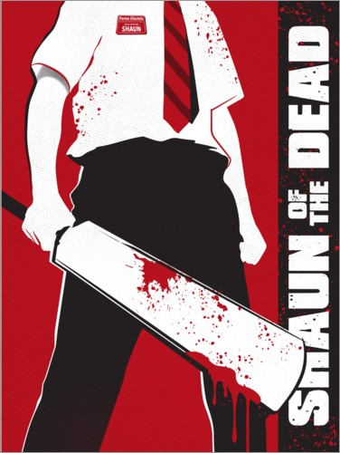 Póster Shaun of the dead