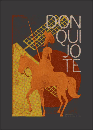 Póster Don Quijote