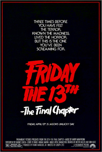 Póster Friday the 13th (English)