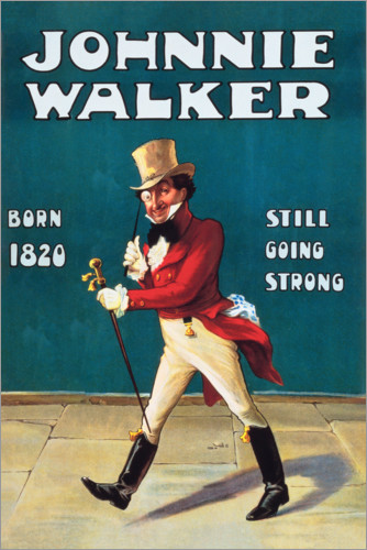 Póster Johnny Walker
