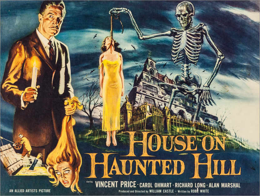 Póster House on Haunted Hill