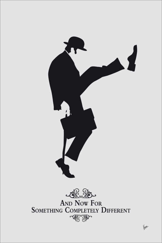 Póster Ministry of Silly Walks