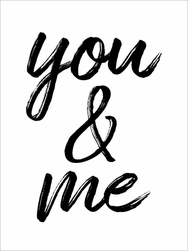 Póster You and me