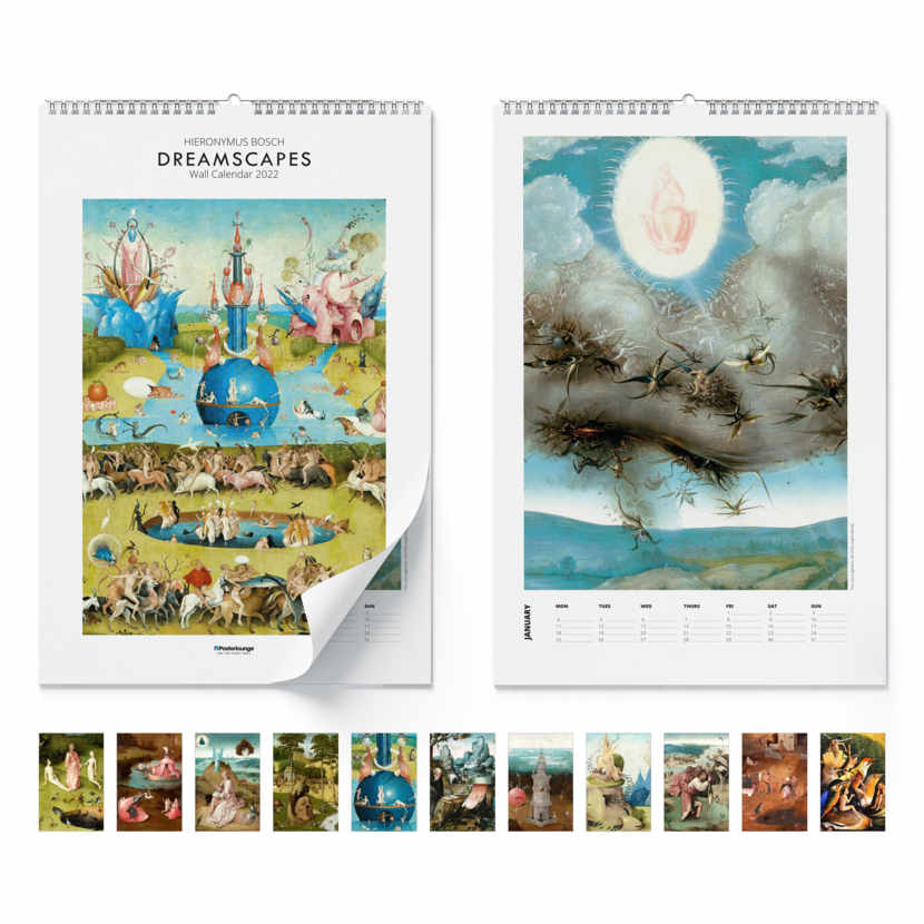 Calendario de pared Dreamscapes 2021
