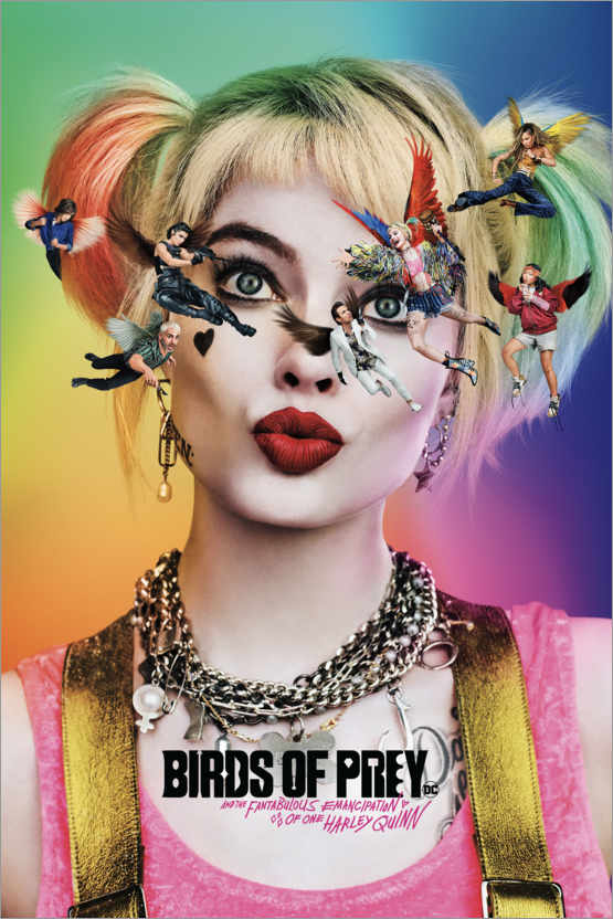 Póster Birds Of Prey - The Emancipation Of Harley Quinn