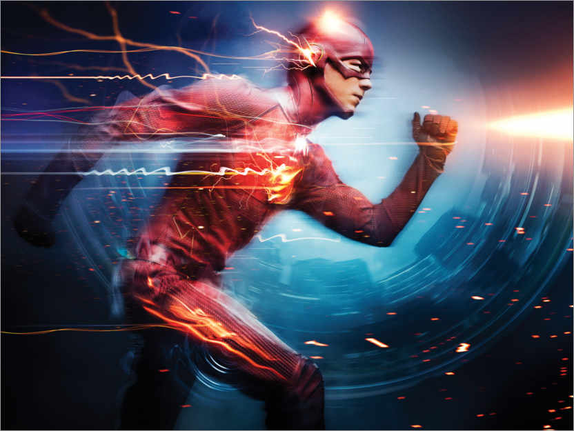 Póster The Flash (2014)