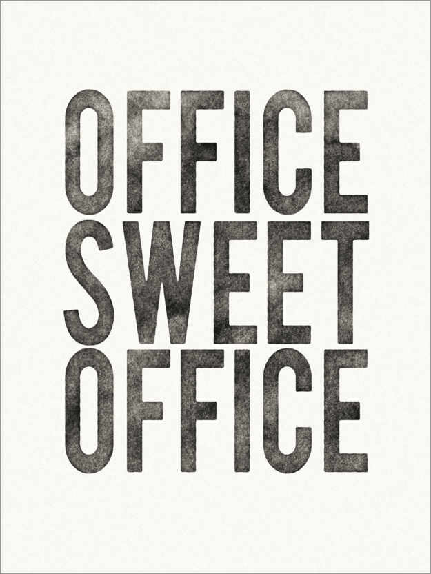 Póster Office Sweet Office