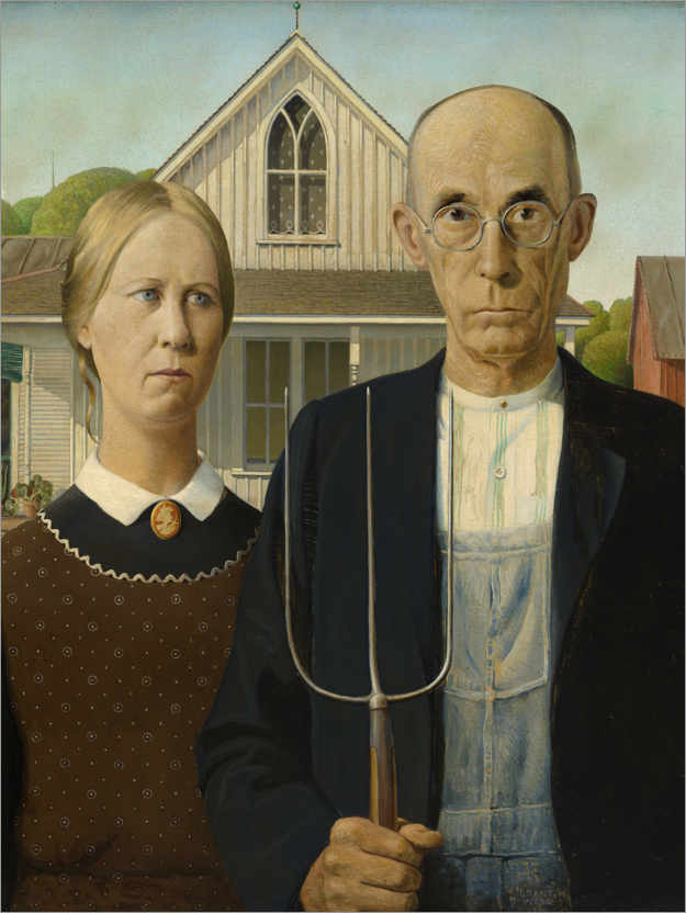 Póster American Gothic