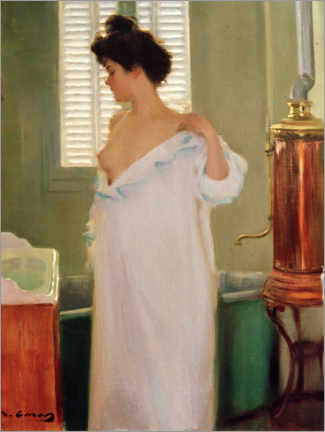 Póster  Before the Bath - Ramon Casas i Carbo
