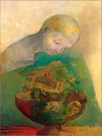 Póster  Shell of becoming - Odilon Redon