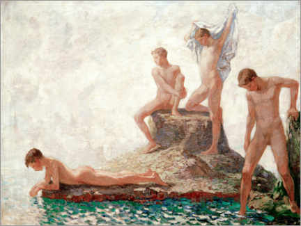 Póster Bathers youths