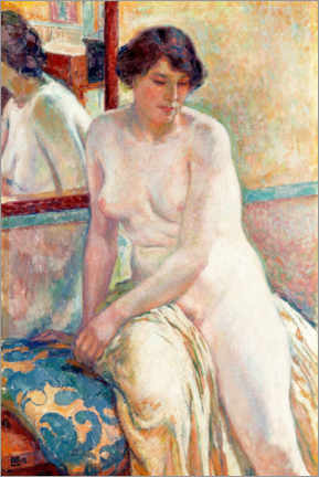 Cuadro de plexi-alu  The Model's Rest - Theo van Rysselberghe