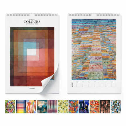 Calendario de pared  Paul Klee, Colours 2021 - Paul Klee