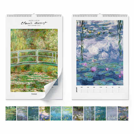 Calendario de pared  Claude Monet, Water Lilies 2021 - Claude Monet