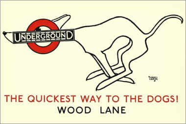 Póster Wood Lane Underground
