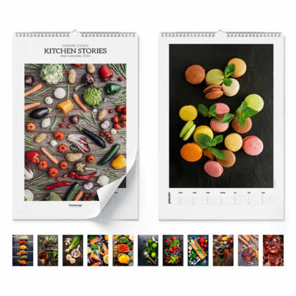 Calendario de pared Kitchen Stories 2021