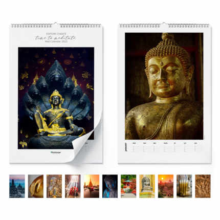 Calendario de pared  Time to meditate 2021