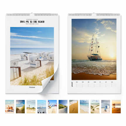 Calendario de pared  Take Me To The Beach 2021