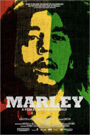 Póster  Marley (inglés) - Entertainment Collection