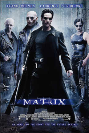 Póster The Matrix (inglés)