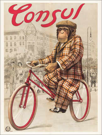 Póster  Anuncio antiguo Consul - Advertising Collection