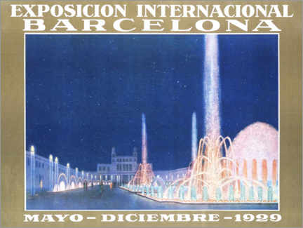 Póster  Exposición internacional de Barcelona - Advertising Collection