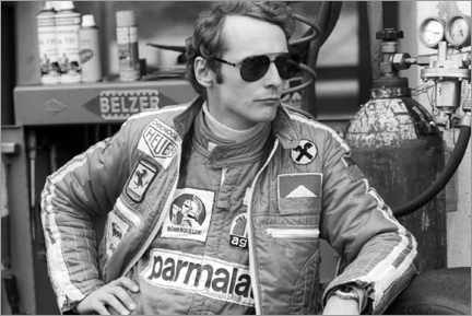 Lienzo  Niki Lauda, German Grand Prix, Nürburgring 1976