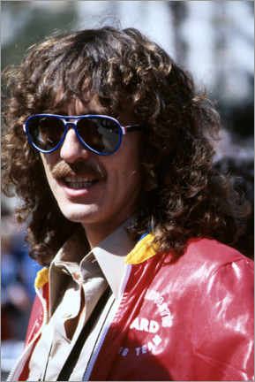 Póster  George Harrison, Long Beach Grand Prix, 1978