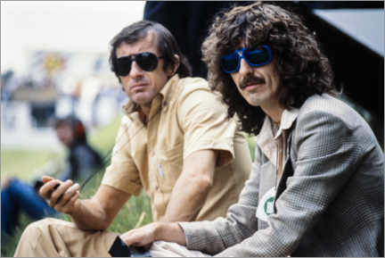 Póster  Jackie Stewart and George Harrison, Hockenheimring 1978