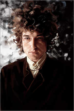 Lienzo  Bob Dylan - Dmitry Belov