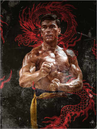 Póster  Bloodsport - Dmitry Belov