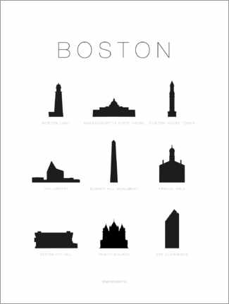 Póster Boston