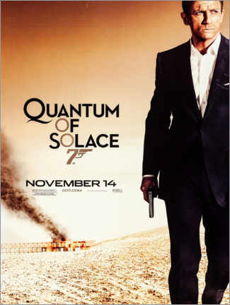 Póster  Quantum of Solace - Entertainment Collection
