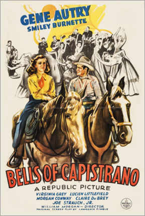 Póster  Bells of Capistrano - Entertainment Collection